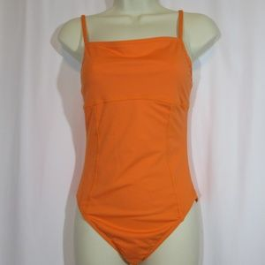 Lands End Size 8 One Piece Swimming Bathing Suit